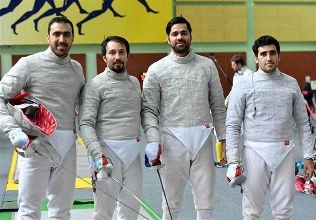 راهیابی ۴ سابریست ایران به جمع ۱۶ نفر برتر