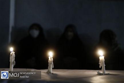 عزاداری شام غریبان حسینی در حرم مطهر امام خمینی (ره)