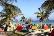 ممنوعیت نصب چادر  در ساحل شهر بندرعباس