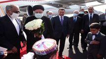 رئیس جمهور وارد پایتخت تاجیکستان شد