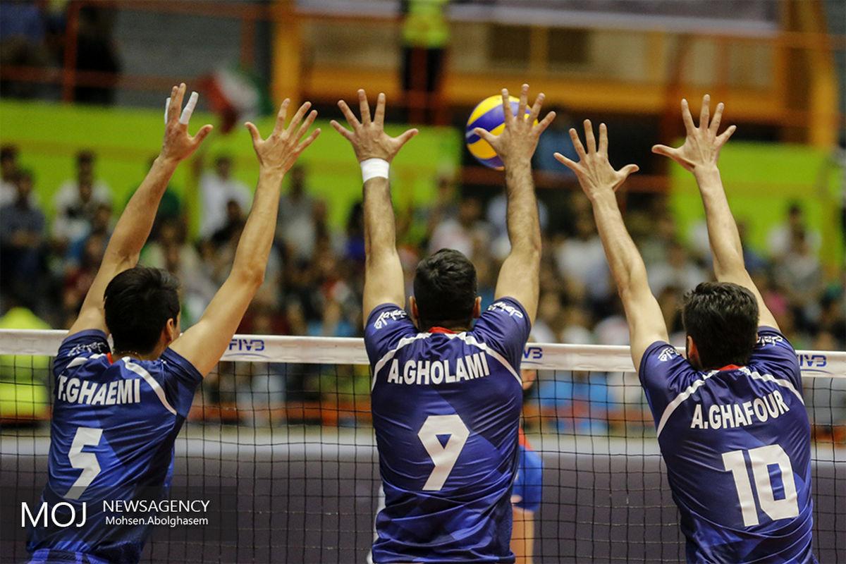 گزارش زنده بازی والیبال ایران و صربستان/ ایران 2  صربستان  3