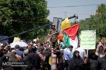 روز قدس روز منکوب کردن تروریسم دولتی رژیم صهیونیستی است