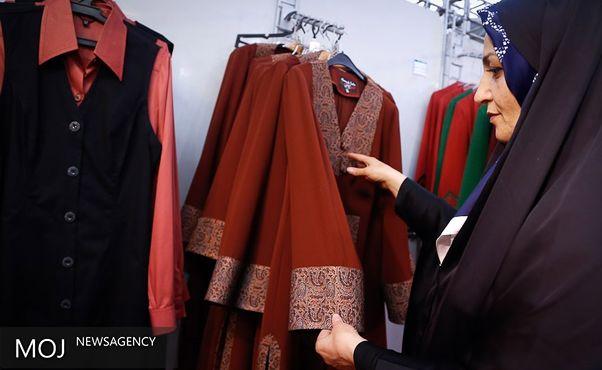 نمایشگاه عفاف و حجاب در پیاده راه فرهنگی رشت
