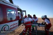 مانور بهداشت و درمان اضطراری هلال احمر در بوئین زهرا