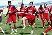 تمرین امروز تیم فوتبال پرسپولیس برگزار شد