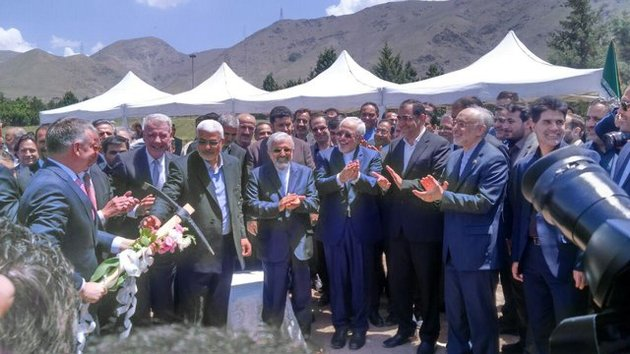 کلنگ ساخت مرکز ملی یون درمانی ایران زده شد