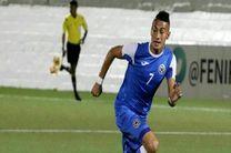 مهاجم تیم ملی نیکاراگوئه به پدیده پیوست
