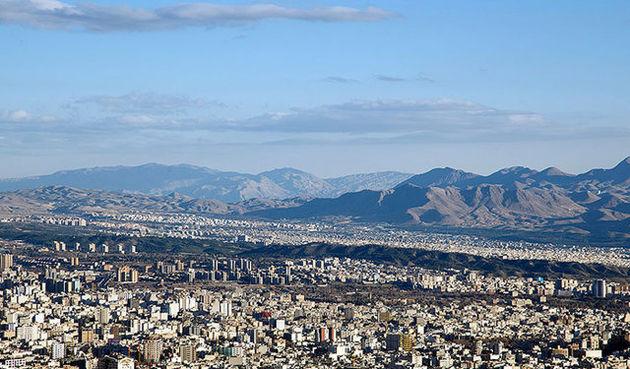 شاخص کیفیت هوای تهران امروز 54 شد