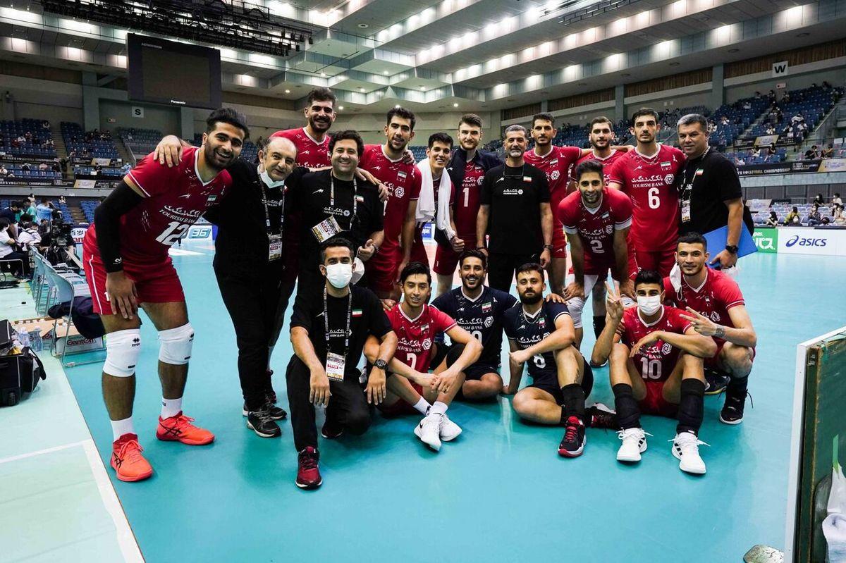 صعود بیدردسر والیبال ایران از مرحله گروهی قهرمانی آسیا