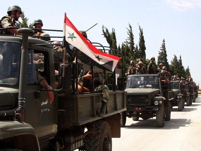 عملیات گسترده ارتش سوریه علیه تکفیری ها