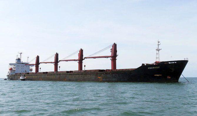 آمریکا کشتی توقیف شده کره شمالی را به ساموای آمریکا منتقل کرد
