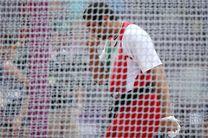 موسوی از صعود به فینال پرتاب چکش باز ماند