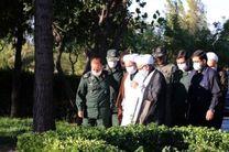 حاجی صادقی از پایگاه فتح هوانیروز سپاه بازدید کرد