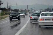 بارش برف و باران در جادههای ۲۰ استان کشور