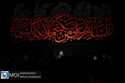 عزاداری شب هشتم ماه محرم در هئیت ریحانه الحسین(ع)