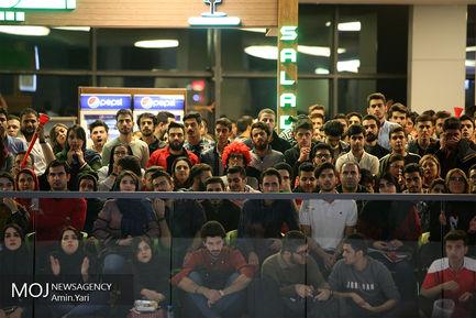 تماشای دیدار فوتبال پرسپولیس ایران و کاشیما آنتلرز ژاپن در پردیس چهارسو