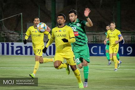 دیدار تیم های فوتبال ذوب آهن ایران و الوصل امارات