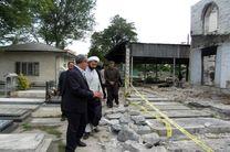 تسریع در ساخت مسجد امام رضا(ع)/سنگ های قبور در مسیر  با رضایت خانواده هایشان تخریب شود
