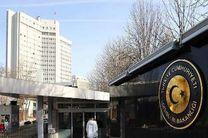 آنکارا، تصویب طرح تعلیق مذاکرات عضویت ترکیه در اتحادیه اروپا را فاقد اعتبار خواند