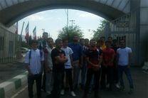 بازیکنان تیم «ب» پرسپولیس مقابل وزارت ورزش تجمع کردند