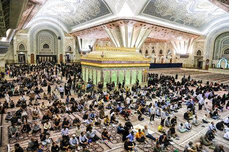 مراسم بیست و نهمین سالگرد ارتحال امام خمینی (ره) آغاز شد
