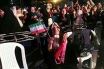 شادی رشتوندان بعد از گل ایران به مراکش هم اکنون میدان شهرداری رشت+تصاویر