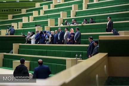 صحن علنی مجلس شورای اسلامی با حضور وزیر ارتباطات