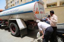 توزیع بیش از 3 میلیون لیتر آب با 438 دستگاه تانکر آبرسانی سیار در اصفهان