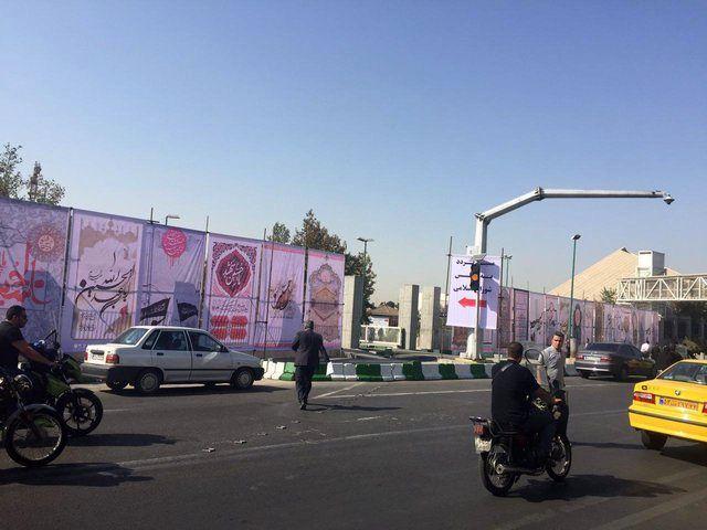 تقویت تدابیر امنیتی در اطراف ساختمان مجلس شورای اسلامی