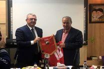 قرارداد همکاری فدراسیونهای فوتبال ایران و آلبانی امضا شد