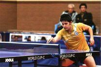 مسابقات تنیس روی میز بزرگسالان و زیر 21 سال کشور برگزار می شود