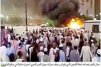 تصاویر انفجارهای تروریستی در عربستان