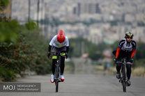 یکهتازی آروین گودرزی در لیگ برتر دوچرخه سواری جاده