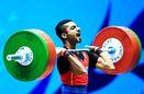 مجید عسکری از تیم ملی وزنه برداری خط خورد
