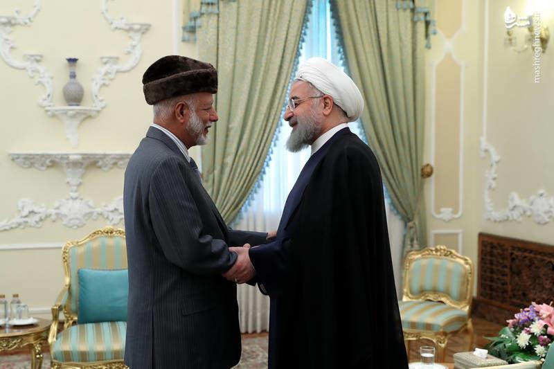 وزیر خارجه عمان امروز با روحانی دیدار کرد