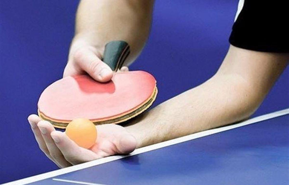 برنامه اردوهای تیمهای ملی تنیس روی میز تا شهریورماه مشخص شد