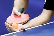زمان برگزاری اردوی جهانی تیم ملی تنیس روی میز تغییر کرد