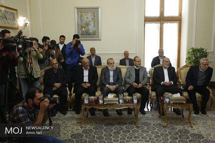 دیدار دبیر کل جنبش جهاد اسلامی فلسطین با ظریف