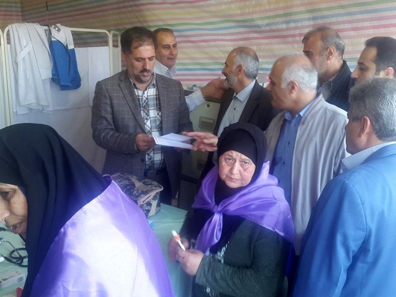 ارائه خدمات بهداشتی درمانی علوم پزشکی گیلان به زائران اربعین حسینی