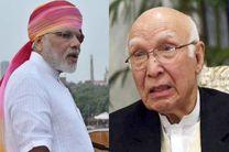 جنگ لفظی بین سران هند و پاکستان