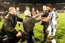 سوپر لیگ فوتبال یونان تعلیق شد/رسوایى مالک ششلولبند پائوک