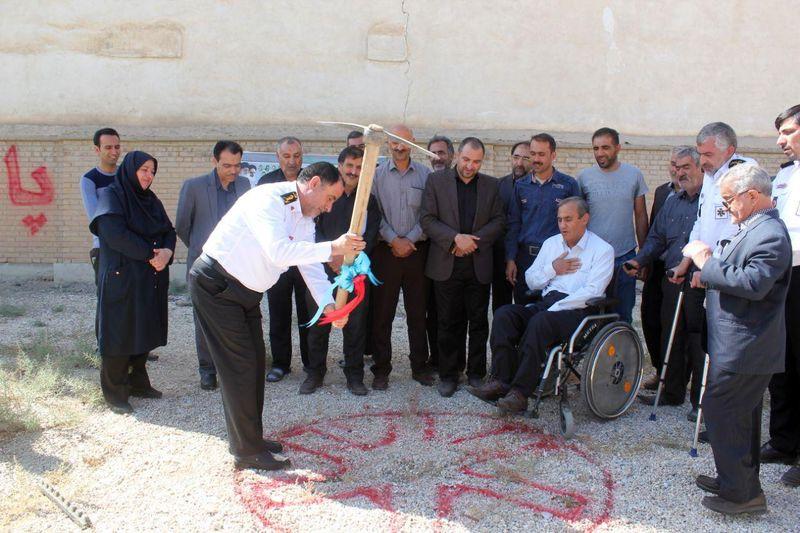 آغاز ساخت نخستین پایگاه اورژانس در محله دهنو اصفهان