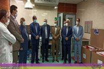 کمک خیری صنف زرگر به بیمارستان شهدای کارگر یزد