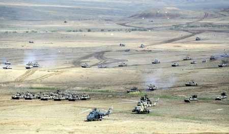 رزمایش های نظامی مشترک جمهوری آذربایجان و ترکیه آغاز شد