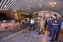 رونمایی از چند طرح خودکفایی عملیاتی و آموزشی نیروی هوایی ارتش