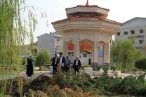 آغاز ساخت دیوار سبز شهدا دانشگاه آزاد اسلامی واحد رشت