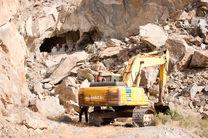ابرکوه قطب مهم معادن سنگهای ساختمانی استان یزد