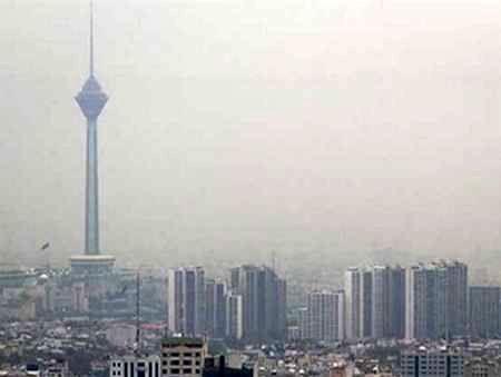 شاخص کیفیت هوای تهران امروز 11 فرودین 136 شد