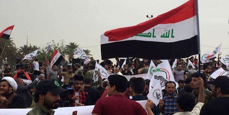 تظاهرات مردم عراق نشاندهنده تصمیم صحیح پارلمان جهت خروج آمریکا است