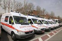 آمبولانس بازسازی شده فوریتهای پزشکی در اصفهان رونمایی شد